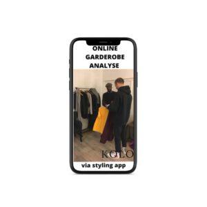 Online garderobe analyse